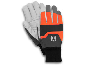 Husqvarna chainsaw gloves Functional with saw protection