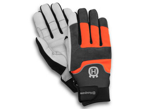 Husqvarna chainsaw gloves Technical with saw protection